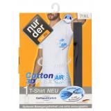 nur der T-Shirt Cotton 3D-Flex Air dynamic Gr. 7 XL schwarz