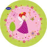 Duni Pappteller 22cm Pink Fairy