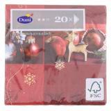 Duni Christmas Jewelry Tissue-Servietten 24x24cm