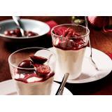 Set: Nachspeise: Zimtparfait mit Rotweinpflaumen
