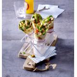 Set: Curry-Spinat-Wraps mit H�hnchen