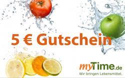 myTime.de Gutschein 5 EUR  - 2001010100580
