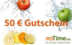 myTime.de Gutschein 50 EUR  - 2001010100610