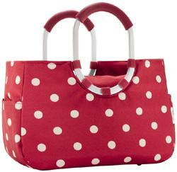 Reisenthel loopshopper M ruby dots