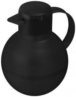 Emsa SAMBA Tea Isolierkanne 1,0 l schwarz  - 4009049319643