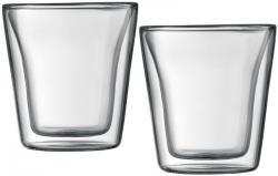 bodum CANTEEN Gläser 2er Set, transparent