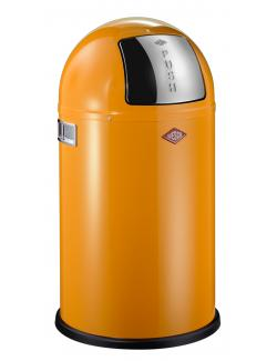 WESCO Pushboy Junior Abfalleimer orange  - 4004519014073