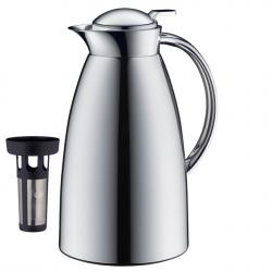Alfi Gusto Isolierkanne chrome 1,0 l inkl. Tee-Filter  - 4002458480614