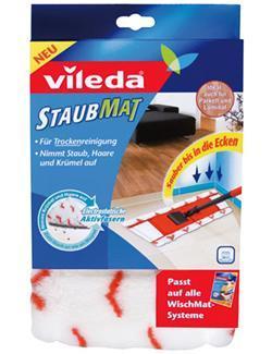 vileda Staubmat Ersatzbezug für WischMat Systeme 125071  - 4023103127357
