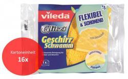 vileda Glitzi Geschirrschwamm / 16er Einheit  - 4023103108790