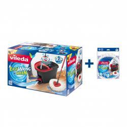 vileda EasyWring & Clean Wischmop Set + Wischmop-Ersatz  - 2003041003564
