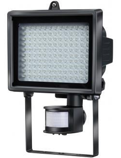 brennenstuhl L130 PIR LED Leuchte mit Bewegungsmelder, schwarz