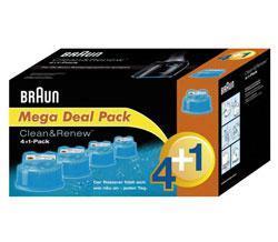 Braun CCR 4+1 Reinigungs-Kartuschen
