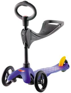 Micro Mobility Scooter Mini Micro 3in1 MM0094 dunkelblau  - 7640108564689
