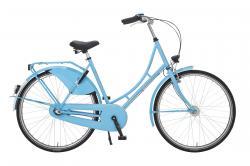 Rheinfels Holland Nostalgie Damen Eco Fahrrad, hellblau, 50 cm