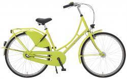 Rheinfels Holland Nostalgie Damen Eco Fahrrad, neongrün, 50 cm
