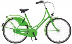 Rheinfels Holland Nostalgie Damen Eco Fahrrad, grasgrün, 55 cm
