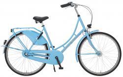 Rheinfels Holland Nostalgie Damen Eco Fahrrad, hellblau, 55 cm