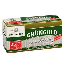 Bünting Grüngold  (25 x 1 g) - 4008837210001