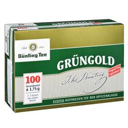 B�nting Gr�ngold  (100 x 1,75 g) - 4008837210070