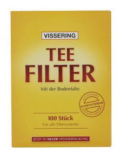 B�nting Vissering Teefilter  (100 St.) - 4008837950129