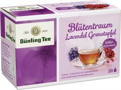 Bünting Blütentraum Lavendelblüte Granatapfel  (20 x 2,50 g) - 4008837220536