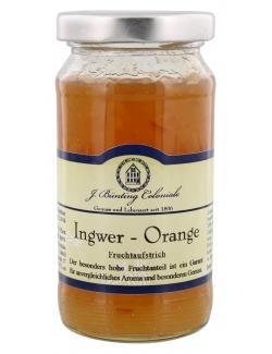 J. B�nting Coloniale Fruchtaufstrich Ingwer Orange  (225 g) - 4017700982099