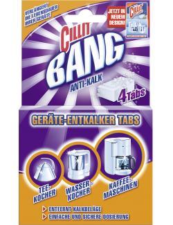 Cillit Ger�te-Entkalker-Tabs  (4 St.) - 4002448004677