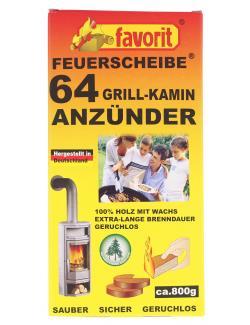 Favorit Feuerscheibe Grill-Kamin-Anzünder  - 4006822318237