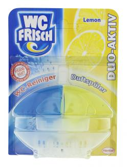 WC Frisch Duo-Aktiv WC-Reiniger + Duftspüler Lemon  (60 ml) - 4015000016834