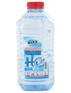 Klax Destilliertes Wasser  (2 l) - 4002832001138