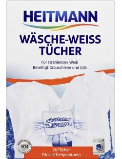 Heitmann W�sche-Weiss T�cher  (20 St.) - 4052400030107