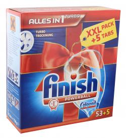 Finish Powerball Alles-in-1 Turbo Tabs  (53 St.) - 4002448065777