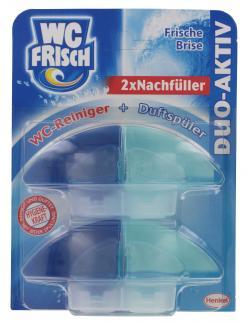WC Frisch Duo-Aktiv-Nachf�ller Frische Brise  (2 x 50 ml) - 4015000308847