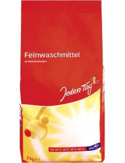 Jeden Tag Feinwaschmittel Pulver fein 40WL  (2 kg) - 4306188059141