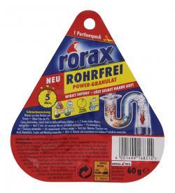 Rorax Rohrfrei Power Granulat  (60 g) - 4001499168314