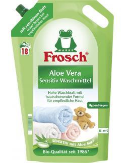 Frosch Waschmittel Aloe Vera 18WL  (1,80 l) - 4001499921506