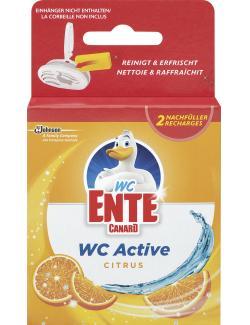WC Ente WC Aktive 3in1 Citrus  (2 x 40 g) - 5000204814620