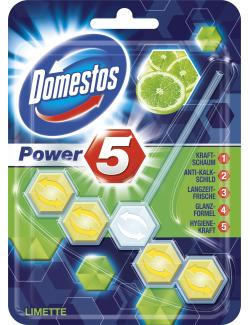 Domestos Power 5 WC-Stein Limette  (55 g) - 8712561770729