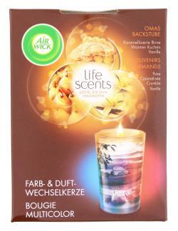 Air Wick Farb- & Duftwechselkerze life scents Omas Backstube  (140 g) - 4002448092056