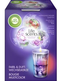 Air Wick Farb- & Duftwechselkerze life scents verwunschener Garten  (140 g) - 4002448092094