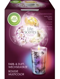 Air Wick life scents Farb- & Duftwechselkerze Sommervergn�gen  (140 g) - 4002448094890