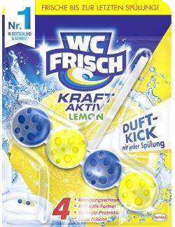 WC-Frisch Kraft-Aktiv Dauer-Duft-Kern Lemon  (50 g) - 4015000963145