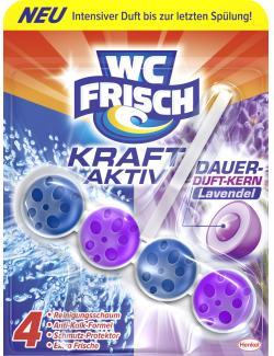 WC-Frisch Kraft-Aktiv Dauer-Duft-Kern Lavendel  (50 g) - 4015000671941