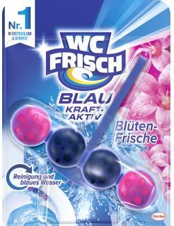 WC Frisch Blau Kraft-Aktiv Bl�tenfrische  (50 g) - 4015000963060