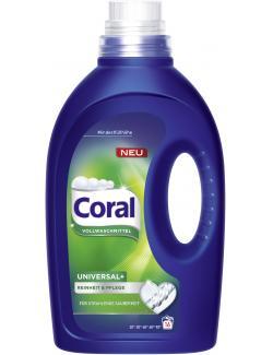 Coral Universal+ Vollwaschmittel flüssig   (16 WL) - 8710908504969
