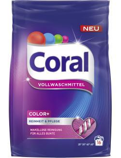 Coral Color+ Vollwaschmittel   (16 WL) - 8710908514456