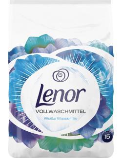 Lenor Vollwaschmittel Weiße Wasserlilie  (15 WL) - 8001090055491