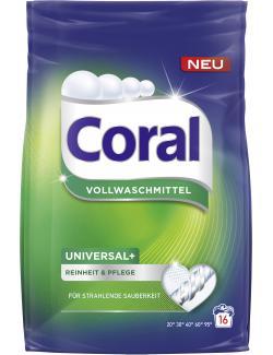 Coral Universal+ Vollwaschmittel   (16 WL) - 8710908514661