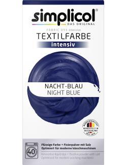 Simplicol Textilfarbe Intensiv Nacht-Blau  (150 g) - 4052400018082